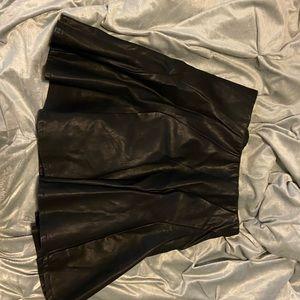 Faux leather Torrid skirt